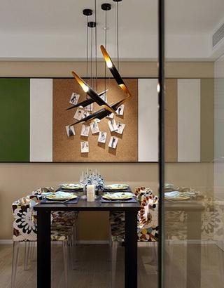 现代简约风格装修餐厅效果图