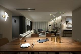 简约风格三居室餐厅效果图