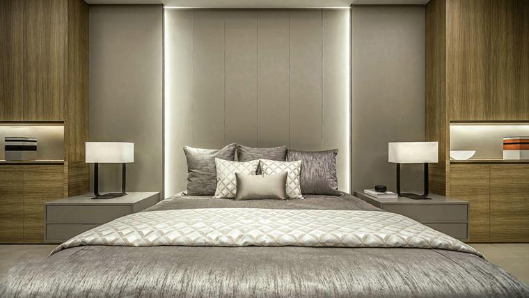 大户型样板间装修小卧室效果图