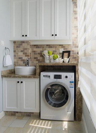 家庭洗衣房布置摆放图