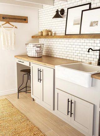 家庭洗衣房装修参考图