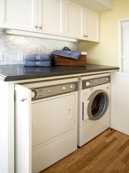 家庭洗衣房设计平面图