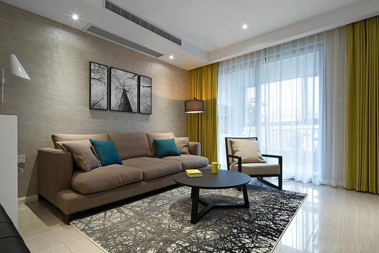 88平的幸福空间客厅效果图