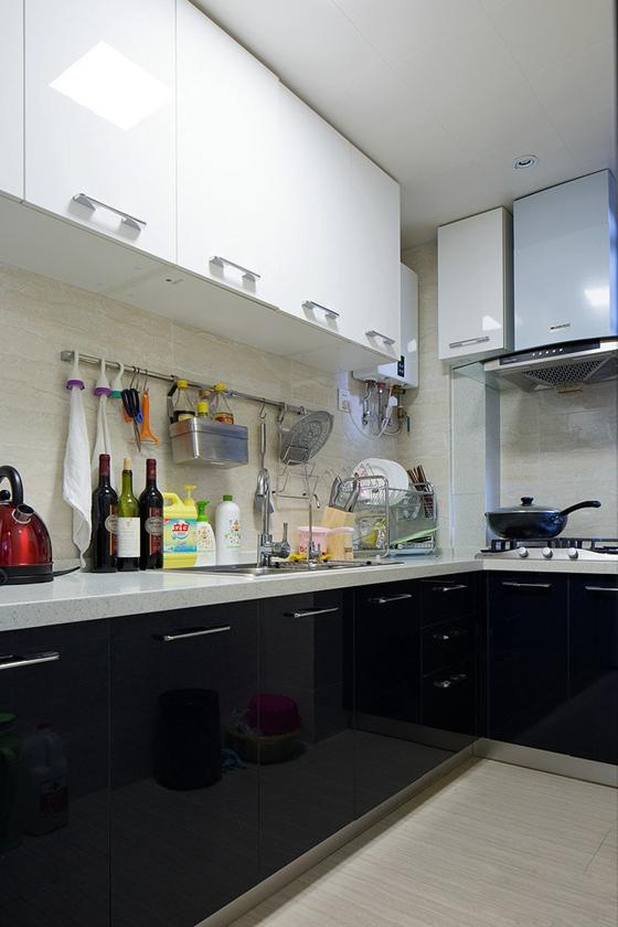 88平的幸福空间厨房效果图