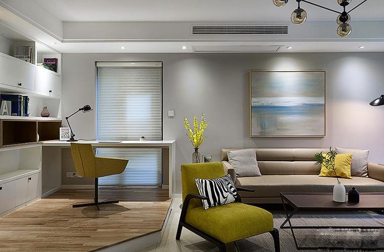 小户型简约风格装单人沙发