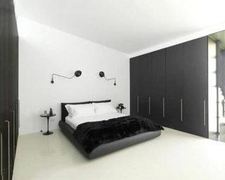 现代风格卧室设计实景图
