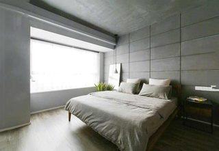 129㎡现代风格卧室书桌平面图