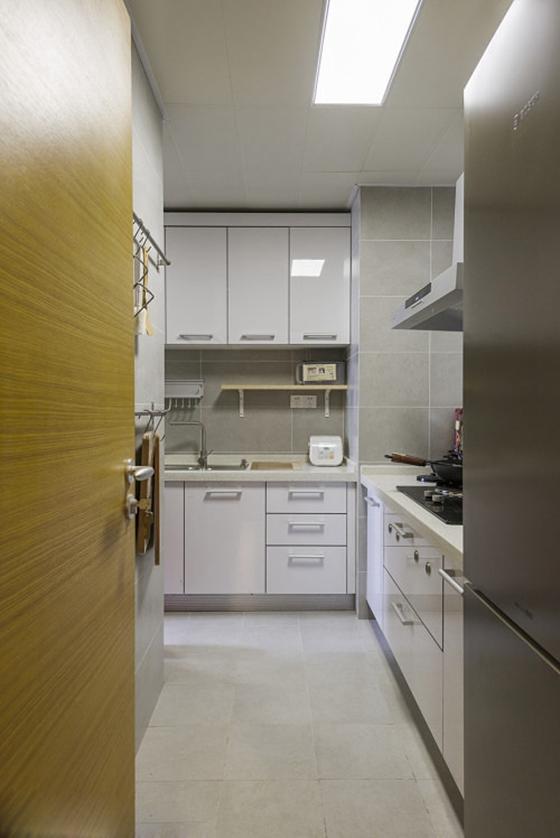 80平北欧风格装修厨房效果图
