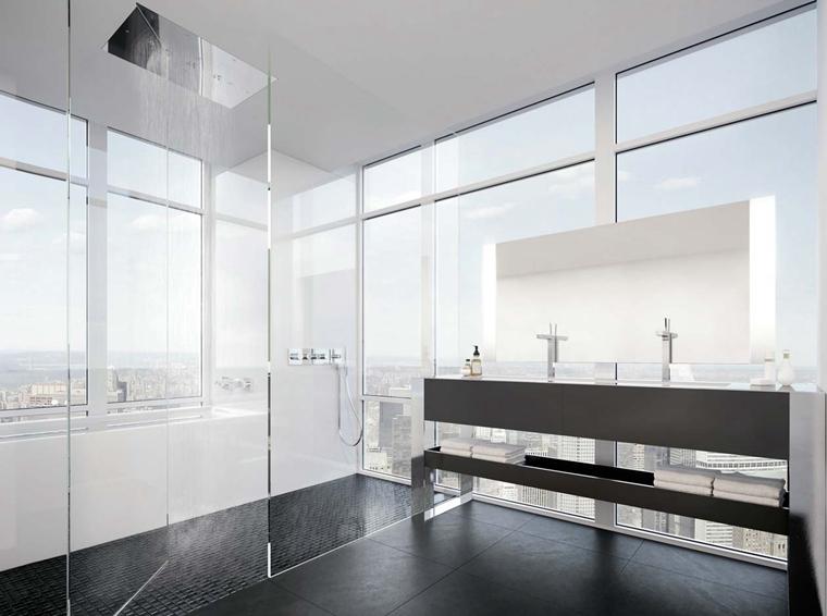 洁净空间大户型装修卫生间装潢图