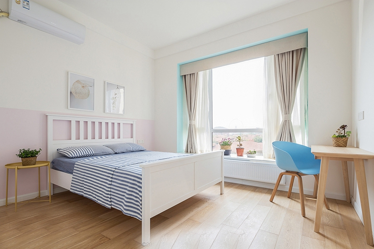 日式风格三居室装修儿童房效果图