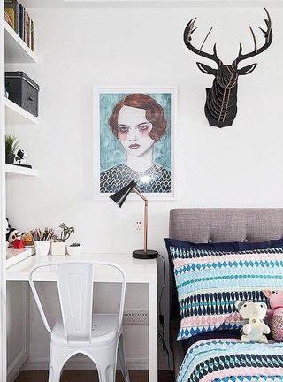 卧室书桌装修欣赏图