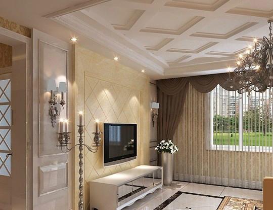 电视背景墙_客厅硬包电视背景墙特点 硬包电视背景墙安装方法