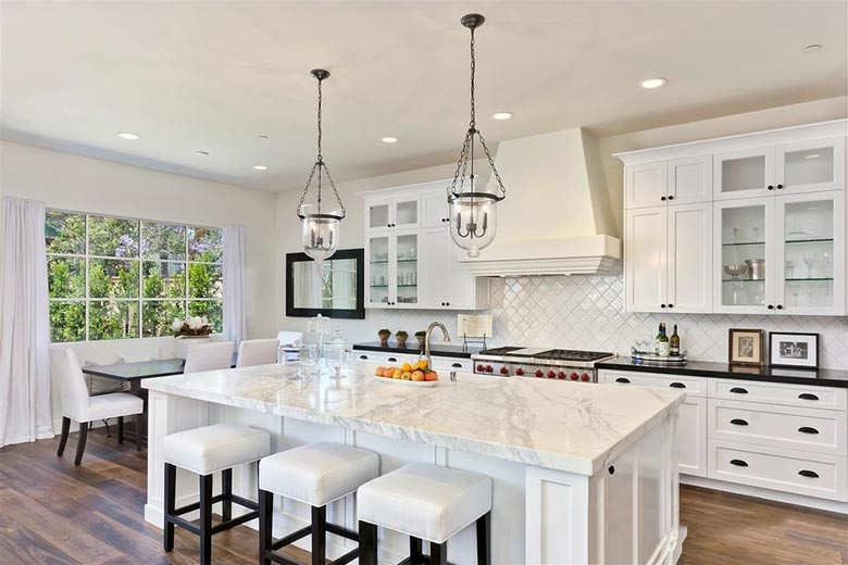 小户型开放式厨房装修效果图大全2013图片_装修效果图