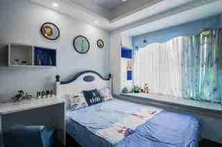 温润如玉的三居室装修儿童房效果图