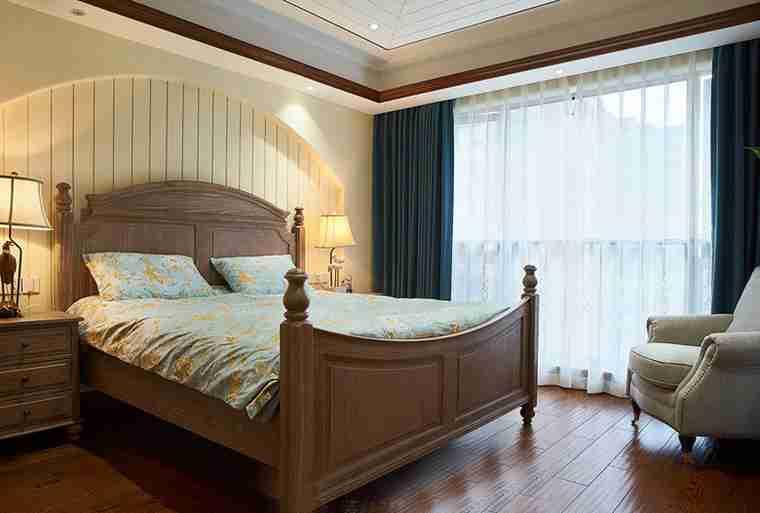 温馨有品味的别墅装修次卧装潢图