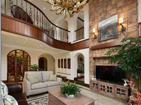 温馨有品味的别墅装修 让家更气派