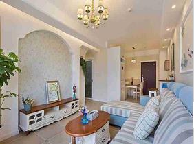 20万搞定三居室装修 温润的空间设计