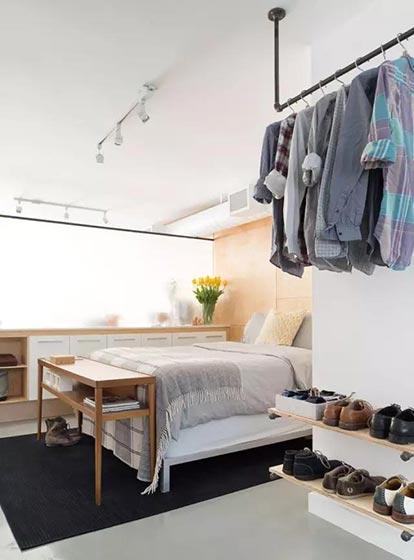 收纳型家具衣柜装修装饰效果图