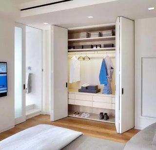 收纳型家具衣柜设计实景图