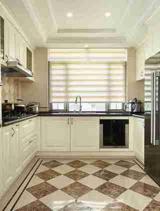 联排别墅装修厨房效果图