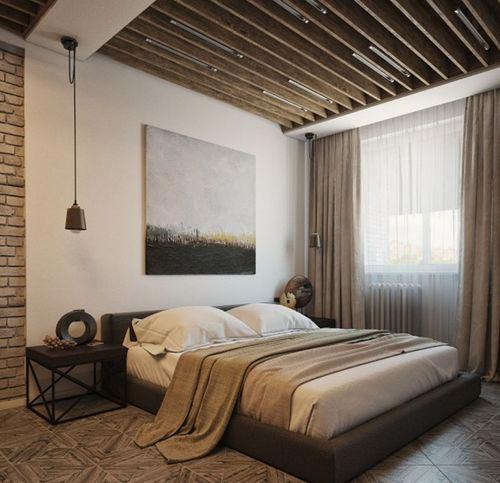 复古卧室设计平面图