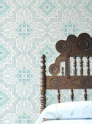 家装壁纸墙设计平面图