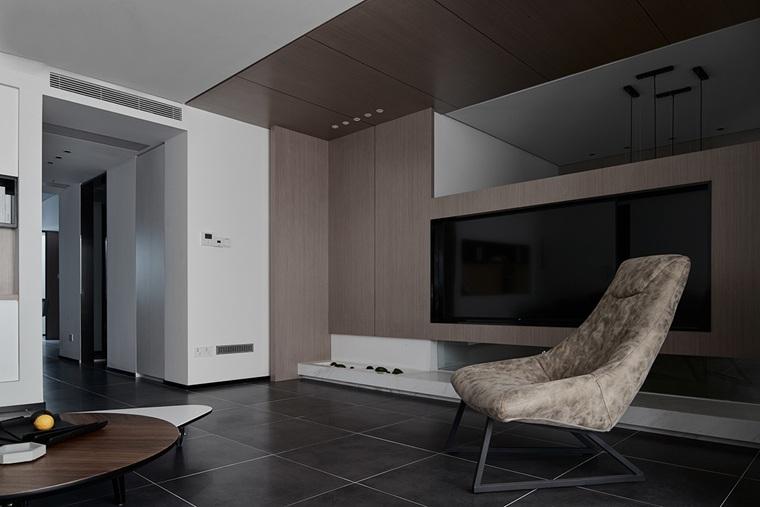 150平米复式装修单人沙发图片