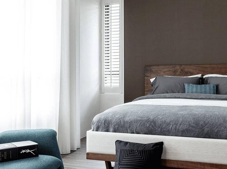 台式风格两居室装修卧室装潢图