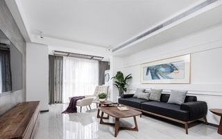 极简设计的典范  120平三居室装修2/10