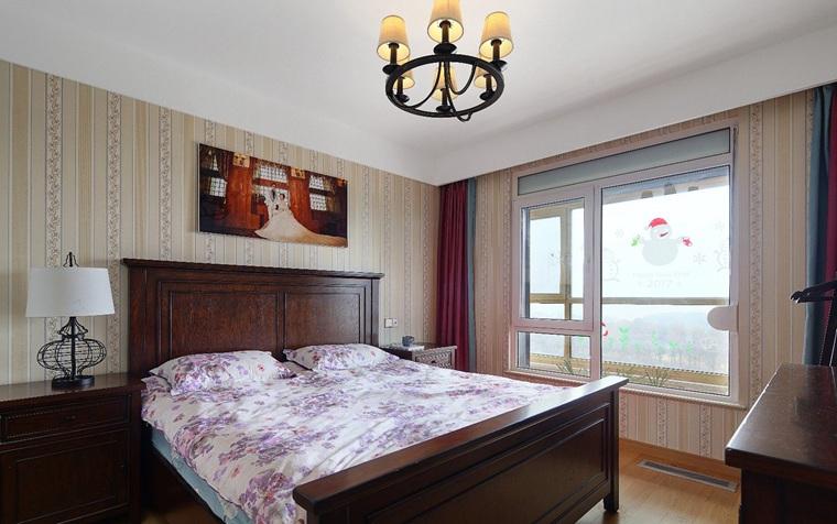 简约风格两居室装修卧室效果图