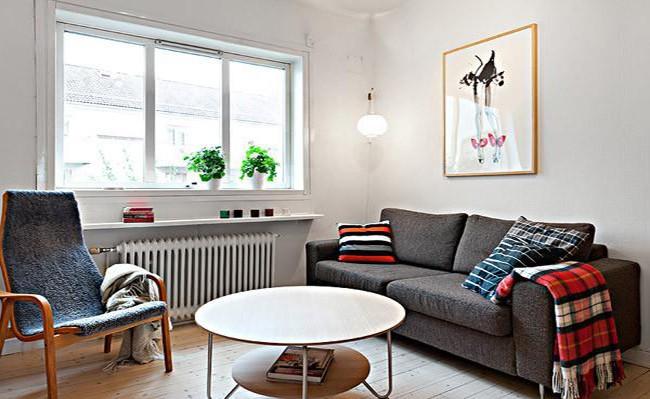 宽敞舒适的41平小公寓