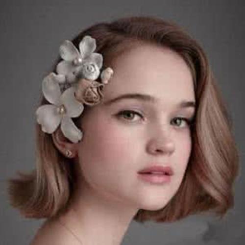 可爱新娘发型设计 6款发型打造甜美新娘