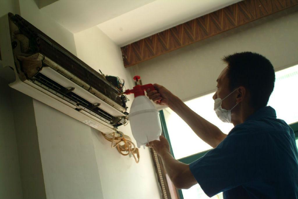 空调外机4根线电路图