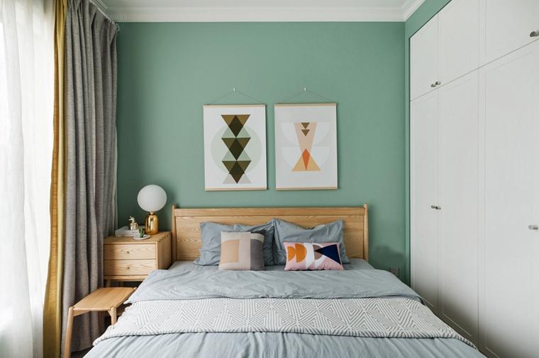 20万装90平三居室小卧室图片