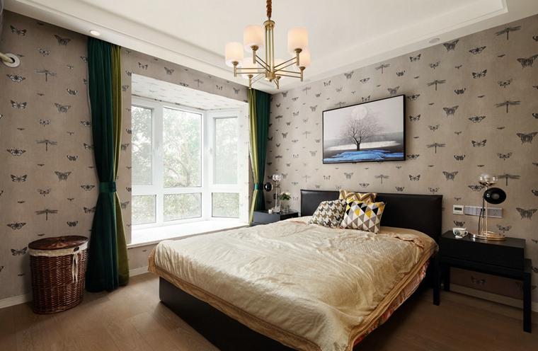 三居室装修卧室效果图