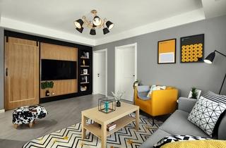 宜家风格公寓装修 让家从里到外精致起来4/10