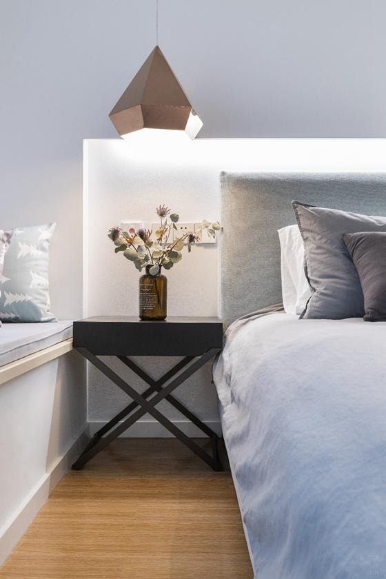 北欧风两居室装修卧室装潢图
