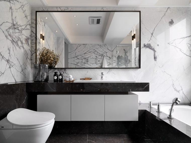 大户型装修浴室柜图片
