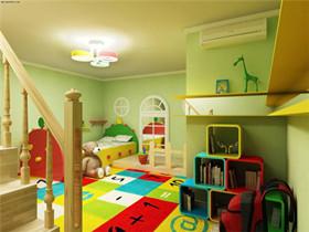 儿童房色彩搭配技巧  儿童房装修哪种颜色好