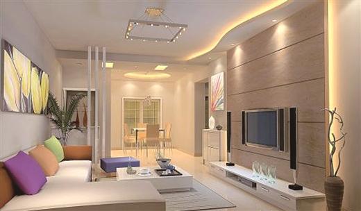 只要分区够科学 小客厅也能装出大空间