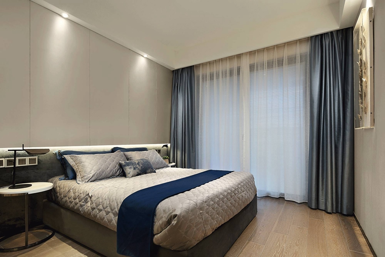 简单别致的白领公寓卧室图片