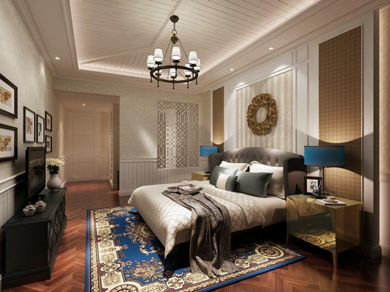 奢华卧室装潢图