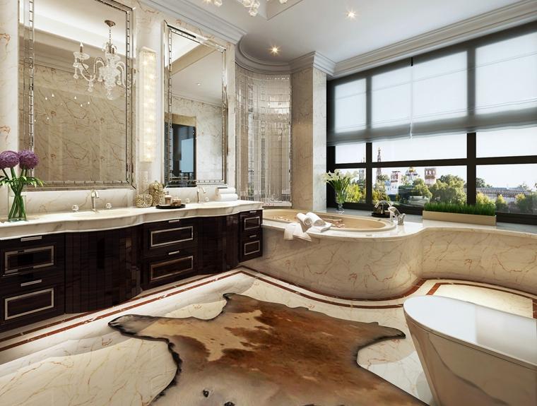 奢华卫浴间图片