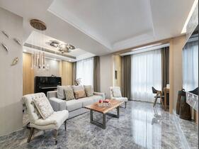 不可思议的三居室装修  让你体验冰冷冷的温馨感