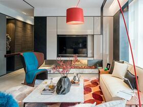 跳跃的色彩 这套公寓装修有个性!