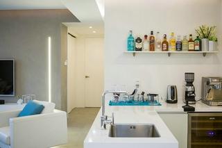 150平简约两居室装修效果图  宽敞大气5/10