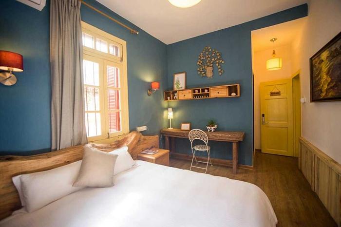 蓝色卧室设计图