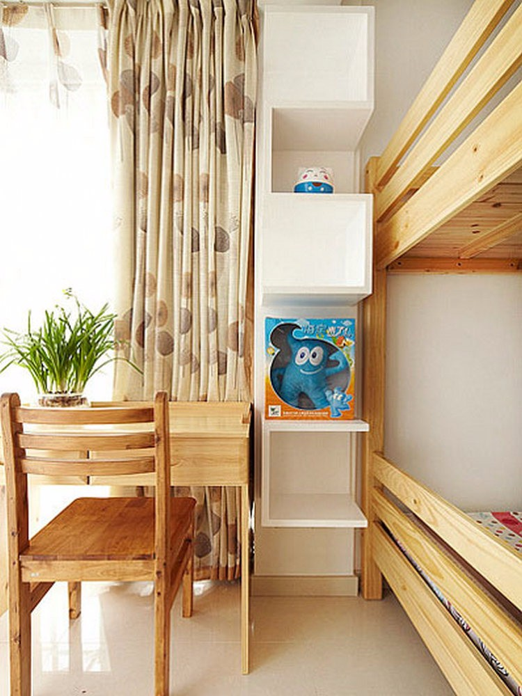 2万68平米欧式二居室装修效果图,小户型的春天装修图片