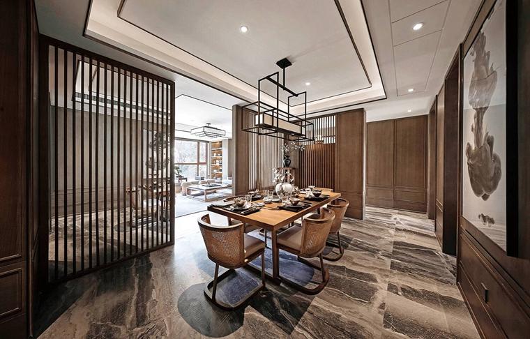 新中式装修让家更温馨餐厅装修图