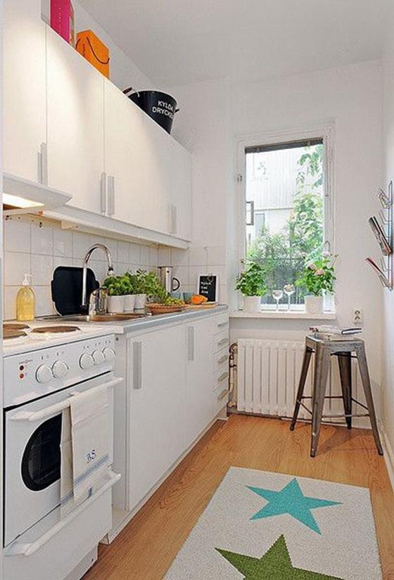 白色调厨房装修图